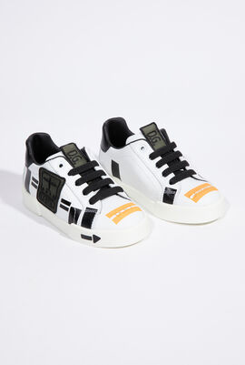 Portofino Light Army Patch Kid's Sneakers