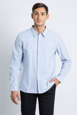 Striped Tailored Fit Long Sleeve Shirts