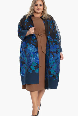 Trama Overcoat Floral Design