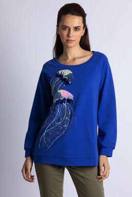 Oracolo Embellished Sweatshirt