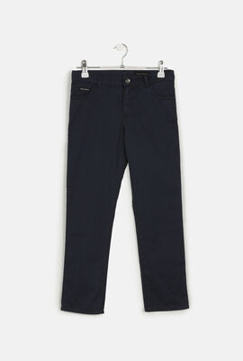 Regular Fit Pocket Trousers