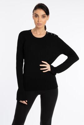 Bijoux Button Sweater
