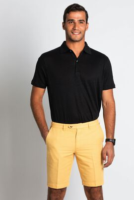 Solid Ginger Classic Chino Shorts