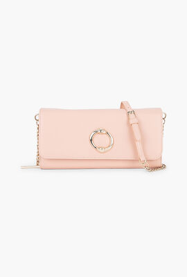 Doris Leather Clutch