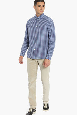 Delave Filafil Check Slim Fit Shirt