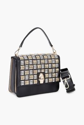 Milano Flap Shoulder Bag