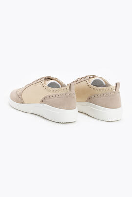 Tahina B Leather Sneakers