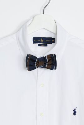 Striped Antique Bow Tie