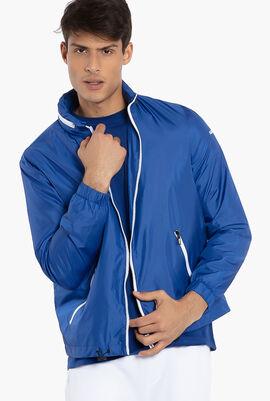 Hooded Blouson Jacket