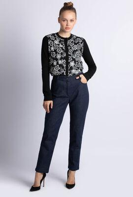 Regular Cut Dark Denim Jeans