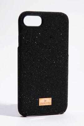 High Black Smartphone Case