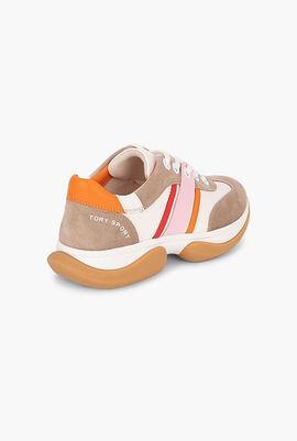 Bubble Stripe Sneakers