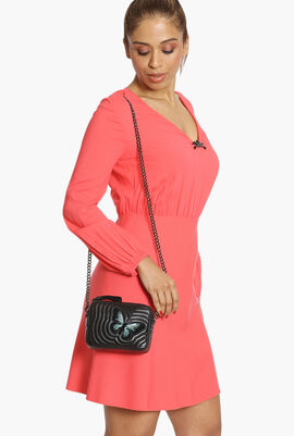 Quilted XS Crossbody Bag