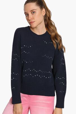 Crew Neck Straight Sweater