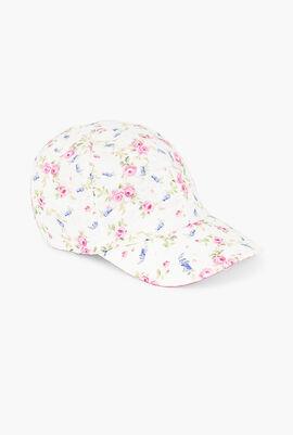 Roses Printed Baseball Cap