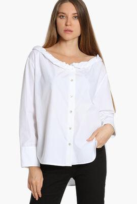Roll Up Collar Shirt