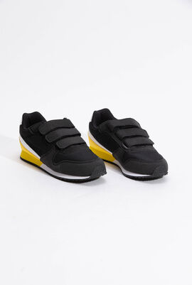 Alpha II INF Sport Black/Empire Yellow Sneaker