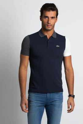 Colorblock Ultra Slim Fit Polo Shirt