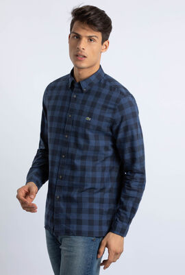 Regular Fit Check Print Shirt