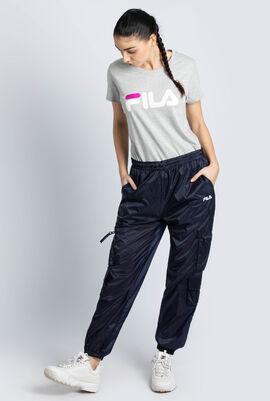 Keva Sheer Utility Track Pants