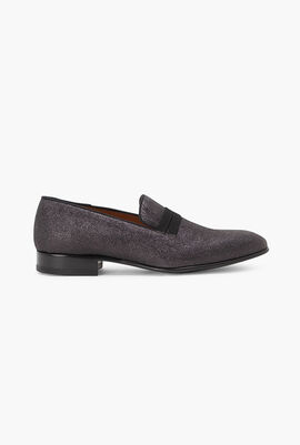 Miles 7 Glittered Loafers