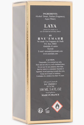 Laya Eau de Parfum, 100 ml