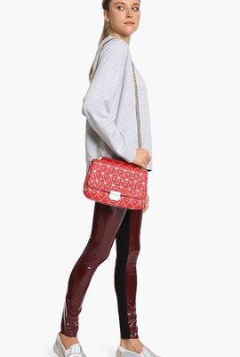 Sloan' Quilted Shoulder Bag
