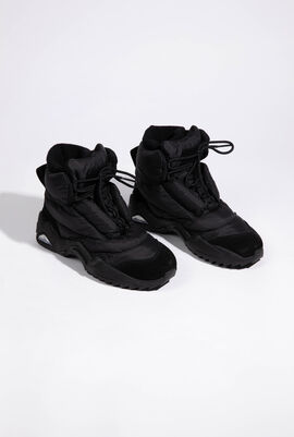Puffer High Top Sneakers