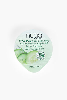Deep Cleansing Face Mask, Cucumber Extract & Jojoba Oil