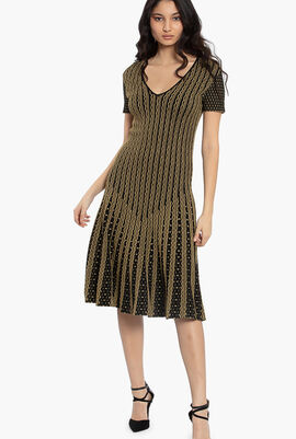 Woven Stretchable Dress