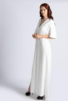 Crape Satin Kaftan  Dress