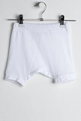 Elastic Waist Casual Short Pants