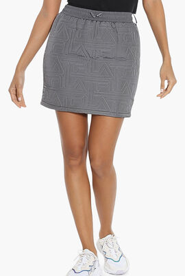 Tamanna Quilted Mini Skirt