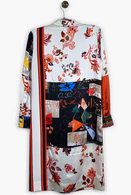 Printed Long Sleeve Dress