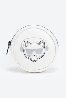 Choupette Zipped Coin Purse