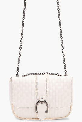Amazone Quilted Leather Crossbody Bag