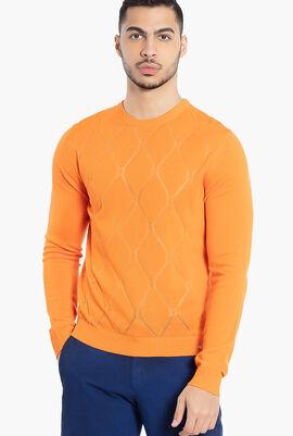 Versus Gianni Crew Neck Sweater