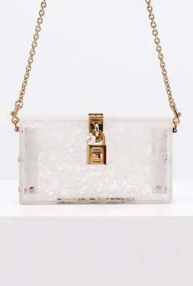 Plexi Lace Evening Clutch