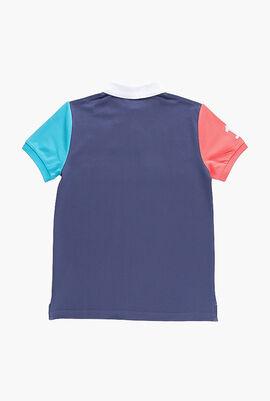 Colourblock Short Sleeve Polo
