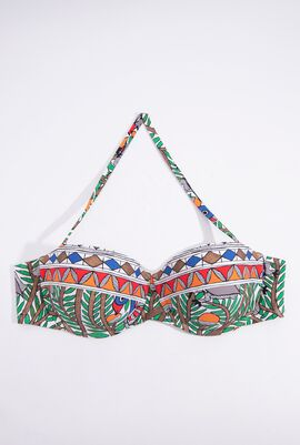 Printed Underwired Bra Top