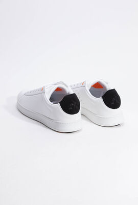 Break W Tech Optical White/Black Sneakers