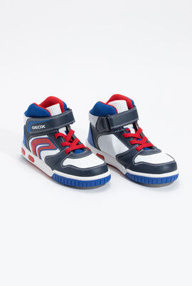Gregg B Flashing High Top Sneakers