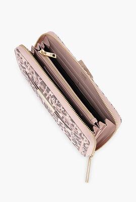 Summer Leo Long Zip Around Wallet