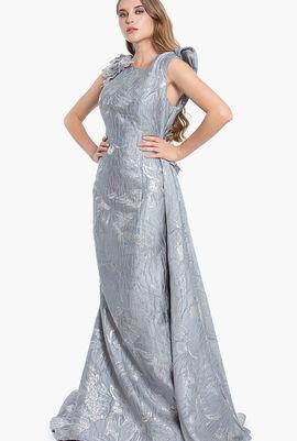 Terani Sleeves Long Gown