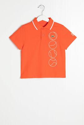 قميص تي-شيرت بولو بأكمام قصيرة