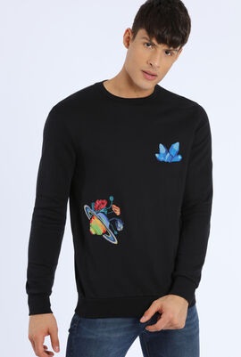 Embroidered Design Sweatshirts
