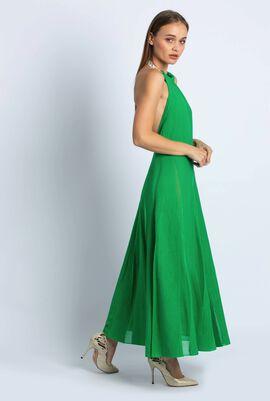 Halter Knitted Tent Dress