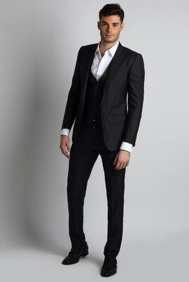 Martini Stripes Suit with Vest