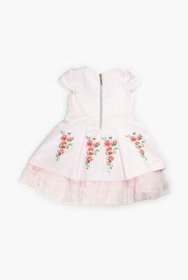 Rose Print Design Dress
