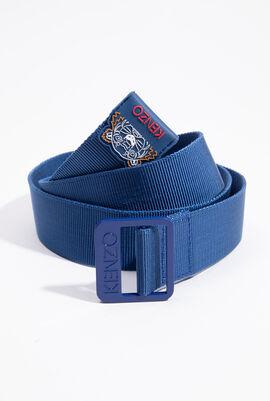 حزام شبكي بشعار النمر